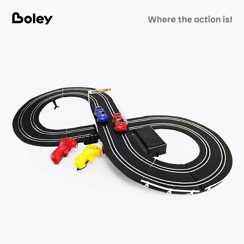 Boley Slot Car Race Track 78 Pc