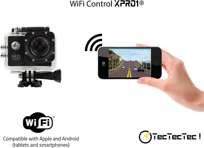 Tectectec Xpro1 Kamera Sport Und Aktion Wlan High Kamera