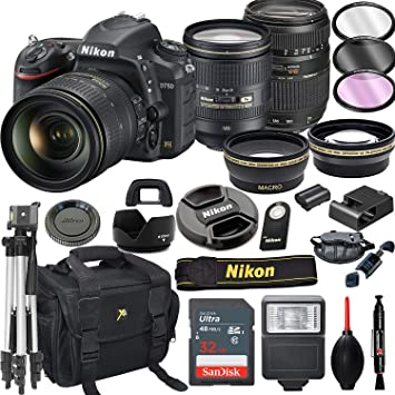 Amazon.com: Cámara réflex digital Nikon D750 con 0.945 ...