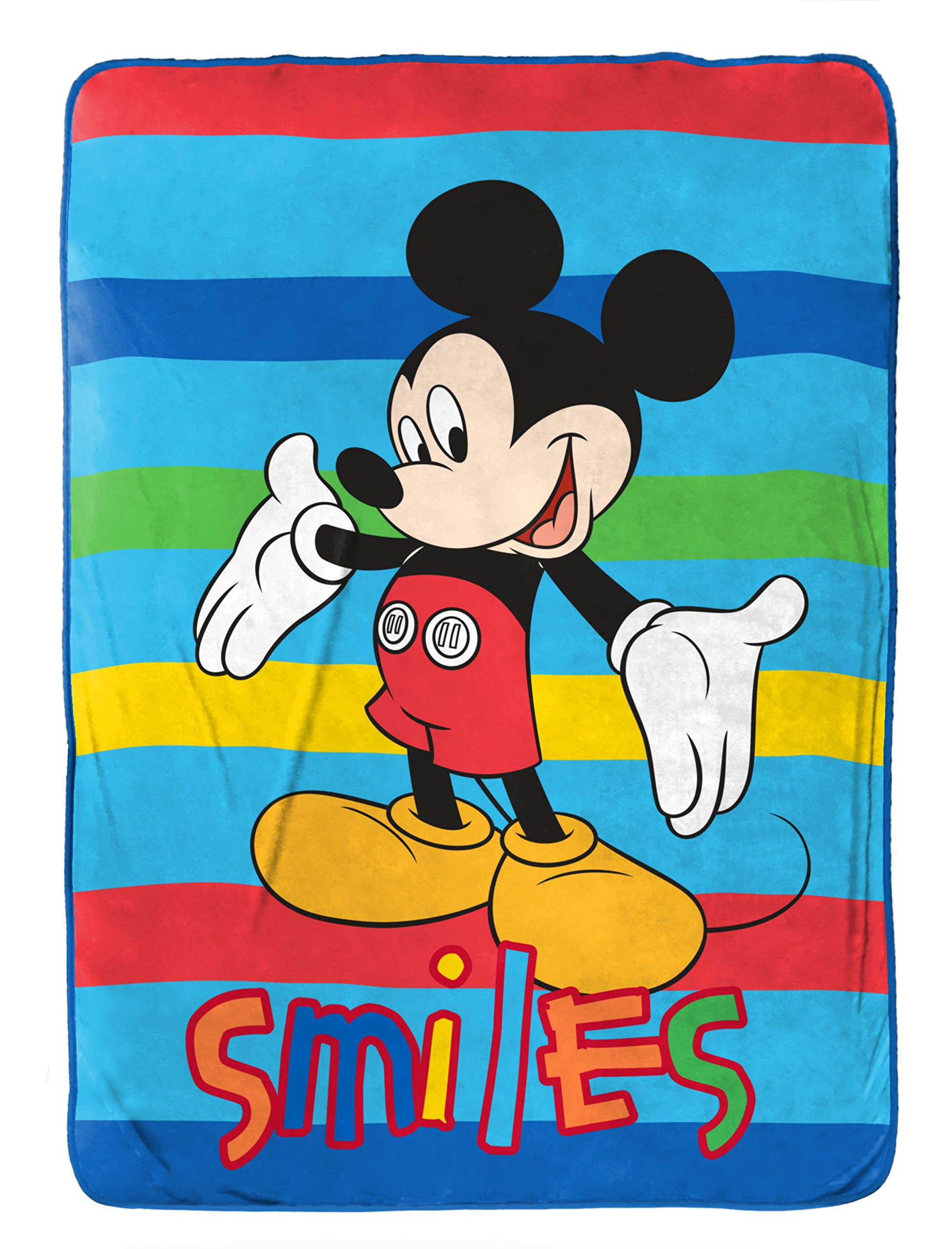 Disney Junior Mickey Mouse Clubhouse Play Twin Fleece Blanket, 62'' X 90''