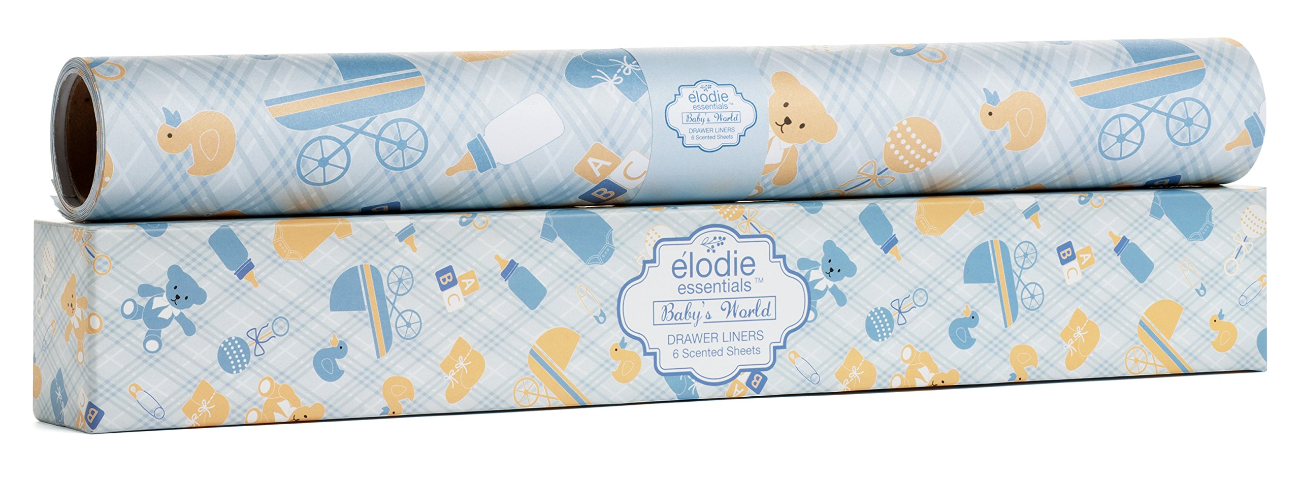 Scented Drawer Liner For Baby Boy – Soft Lavender Fragrance – Elodie Essentials