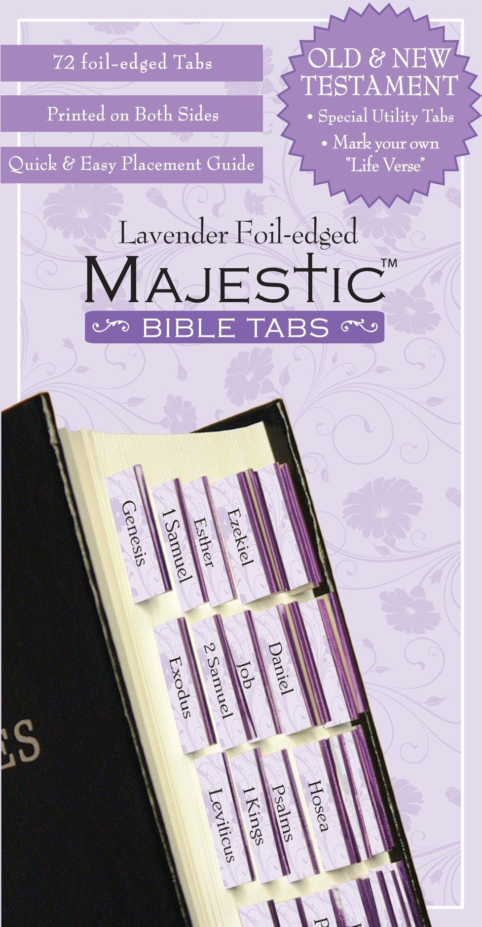 Majestic Bible Tabs Lavender