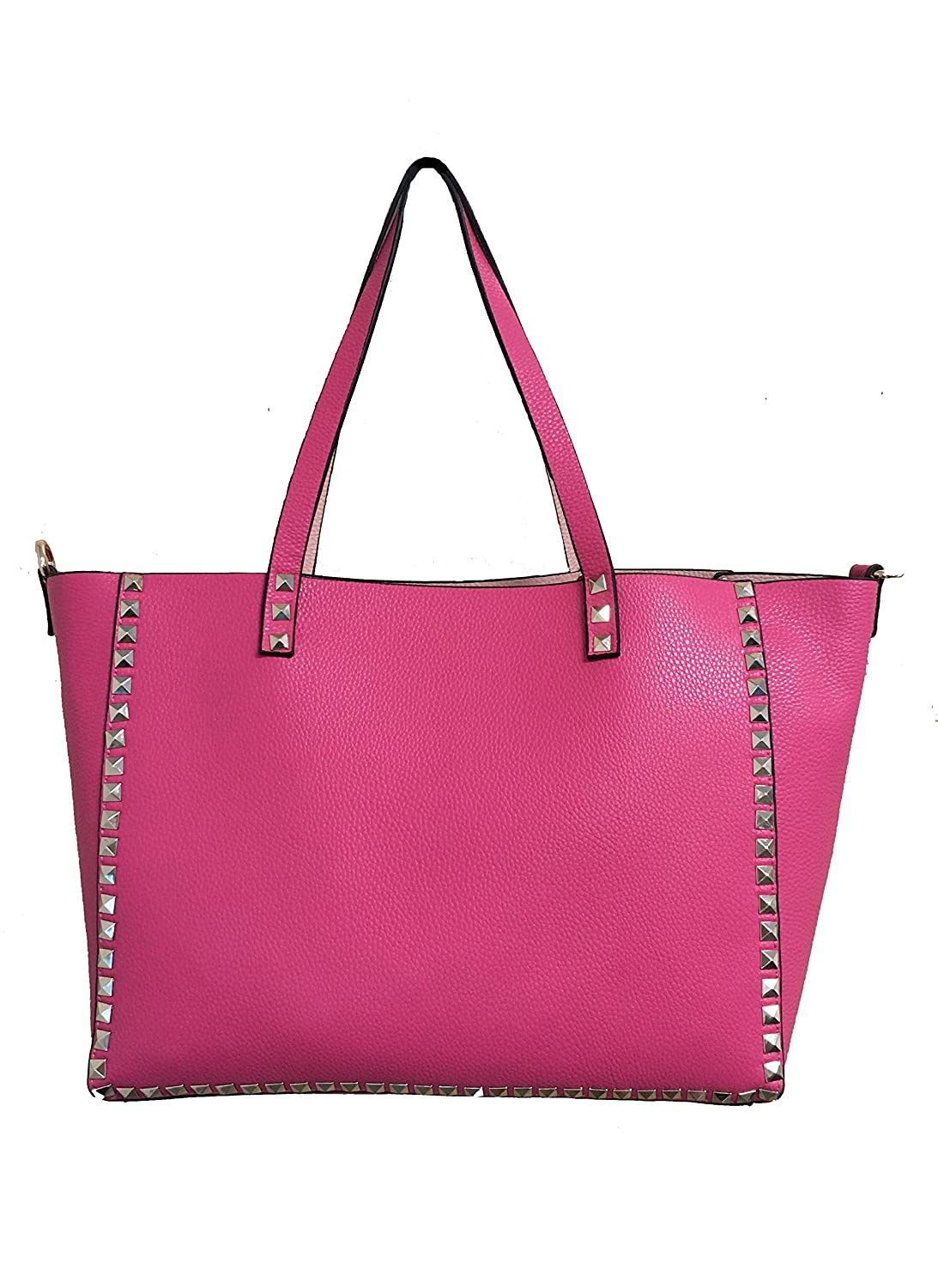 Women's Studded Rockstud Reversible Tote - 2 bags in 1