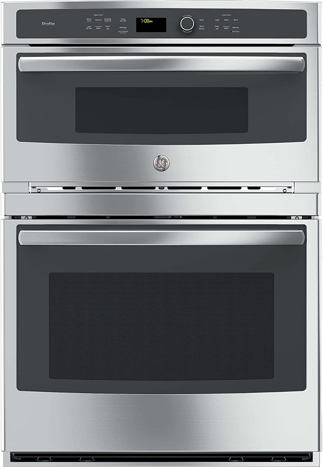 GE PT7800SHSS Microwave Wall Oven