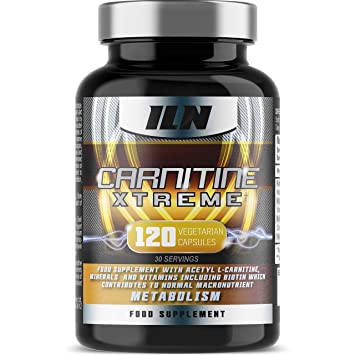 Acetyl L Carnitine - Carnitine Xtreme - 2000mg Acetyl L Carnitine x 30  Servings with Chromium 2eb141552b17