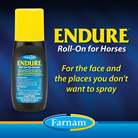 Farnam Endure Sweat-Resistant Fly Repellents for Horses Pack Of 2