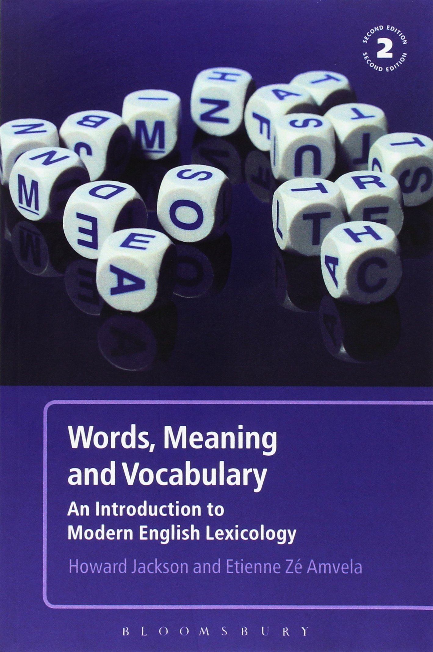 Words, Meaning and Vocabulary 2nd Edition: An Introduction to Modern  English Lexicology: Amazon.co.uk: Howard Jackson, Etienne Z. Amvela:  9780826490186: ...