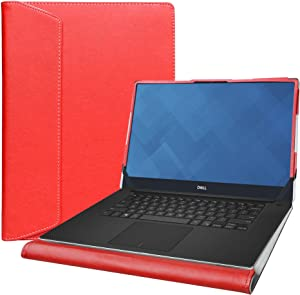 """Alapmk Protective Case for 15.6"""" Dell XPS 15 7590/Inspiron 15 2-in-1 7500 & Lenovo Yoga C940 15 C940-15IRH/IdeaPad Flex 5 15IIL05 Laptop[Not fit XPS 15 9500 9570 9575/Inspiron 15 2-in-1 7590],Red"""