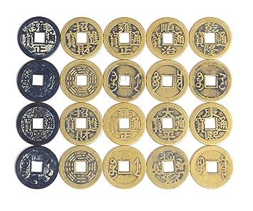 Amazonde Alphaacc Perlenkette Fengshui 50 Fortune Chinesische