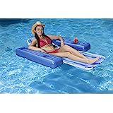 Amazon Com Swimline Floating Lounge Chair Toys Amp Games