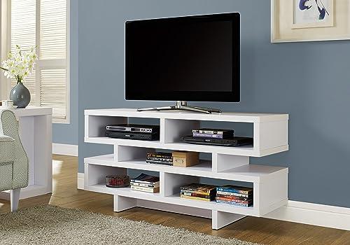 Monarch Specialties Modern TV Stand