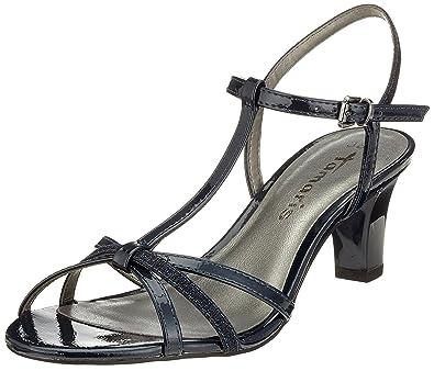 5f959dc515cb Tamaris Damen 28329 T-Spangen Sandalen  Amazon.de  Schuhe   Handtaschen