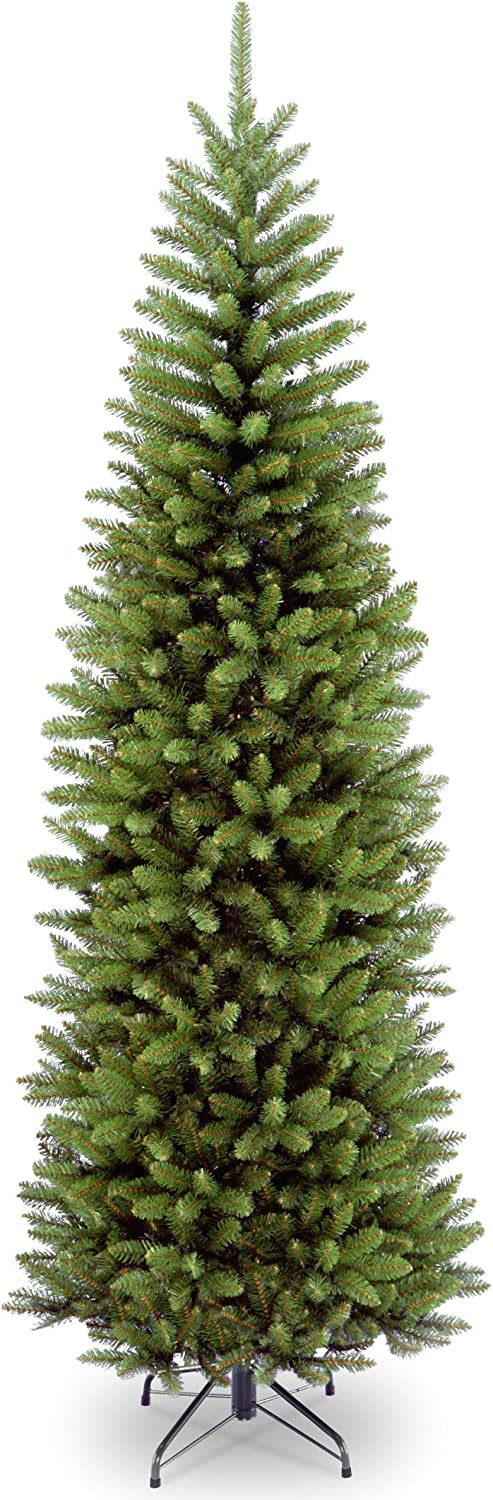National Tree Company Artificial Christmas Tree Includes Stand, Kingswood Fir Slim - 9 ft, 9 ft, 9 ft