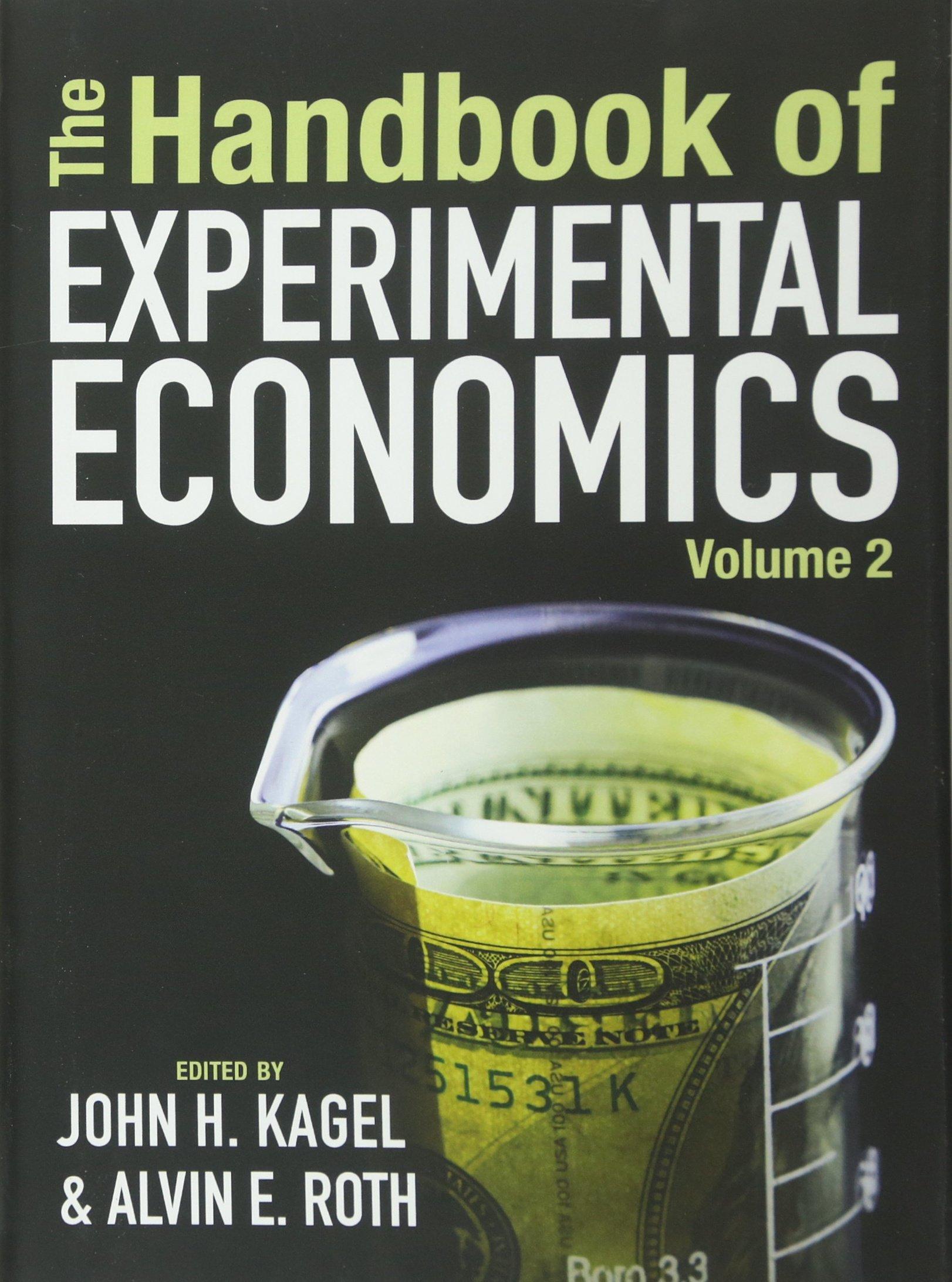 The Handbook of Experimental Economics, Volume 2 pdf