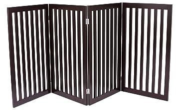 Amazon.com : Internet\'s Best Traditional Pet Gate   4 Panel   36 ...