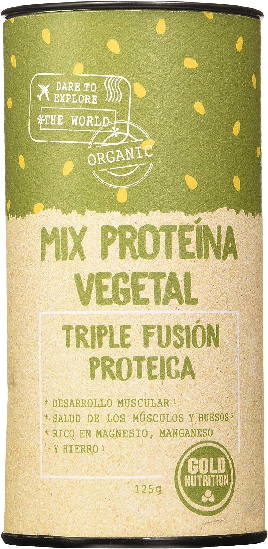 Gold Nutrition Proteina Veg.Mix Con Banana Superalimentos ...