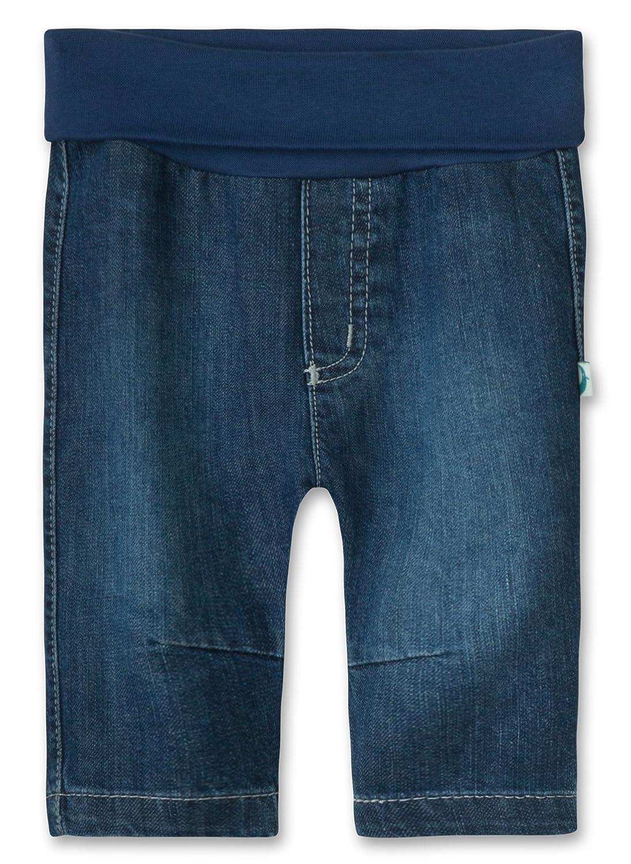 Sanetta Unisex Baby 113545 Jeans Sanetta Baby 113545 Jeans Blue (Dark Smoke 9437) 0-3 Months (Size: 056)