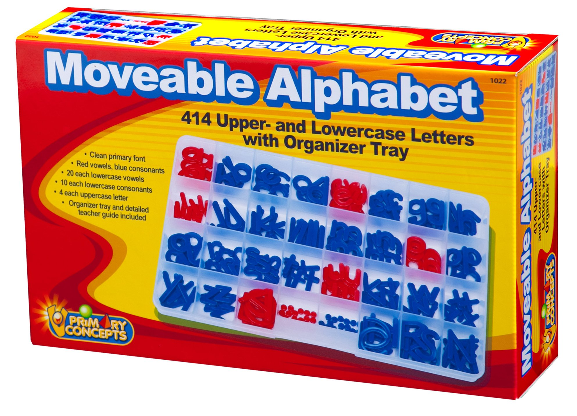 Primary Concepts AA1022 Moveable Alphabet Special