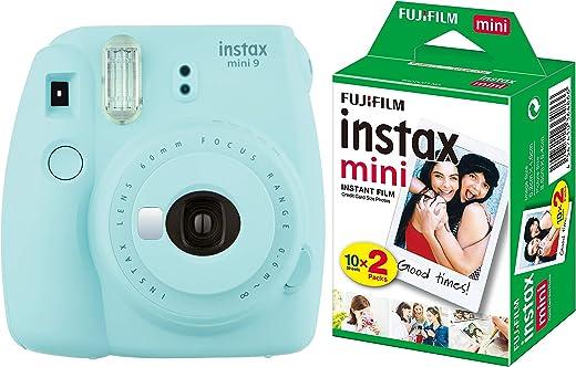 Fujifilm Camera Instax Mini 9 Instant with Film (20 Shots)