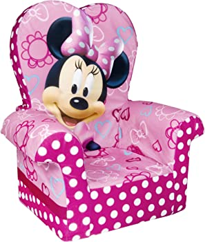 Marshmallow Furniture Minnie's Bow-Tique Chair