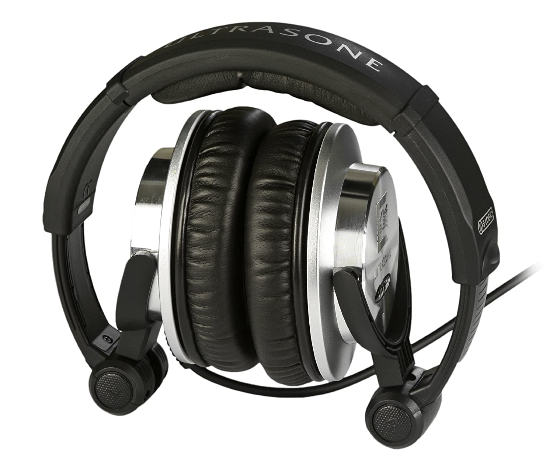 Ultrasone HFI-780 S-Logic Surround Sound Professional Closed-back Headphones with Transport Bag