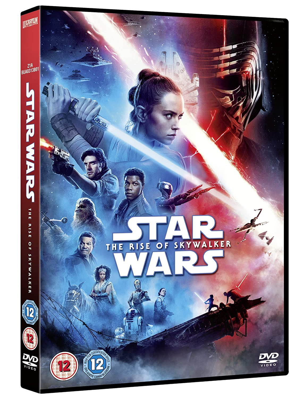Star Wars Rise of Skywalker DVD [UK ...