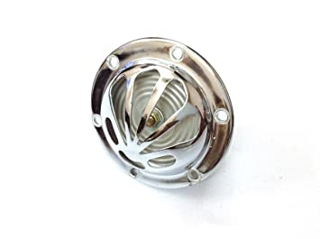 Mickey Spares vm1209 Vespa carcasa Horn/Muschel Claxon De Alarma 6 V AC Chrom Vespa V50, PV, 50 N, VBB, S VLB, VNB: Amazon.es: Coche y moto