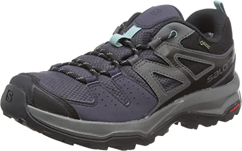 SALOMON Damen X Radiant GTX W Hiking und Multifunktionsschuhe, SynthetikTextil, blau, 43 EU