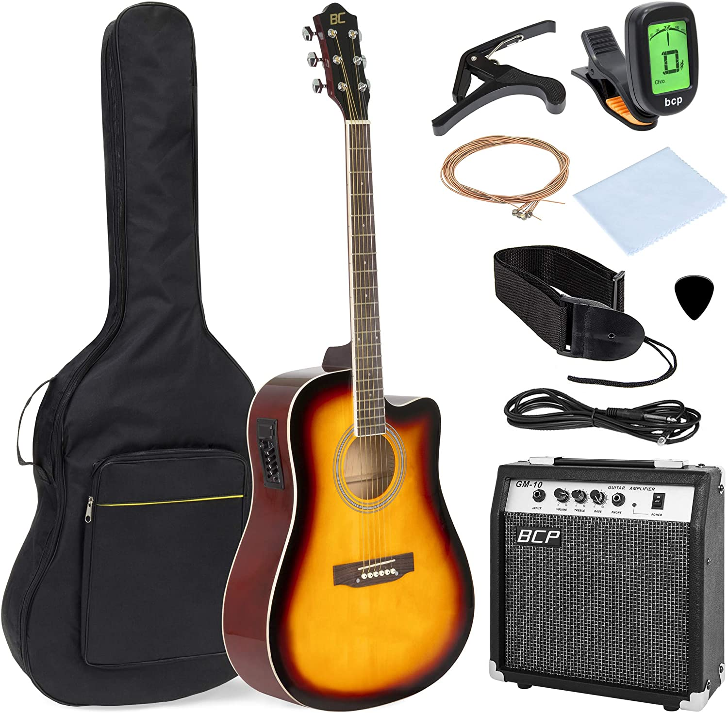 Best Choice Products juego de instrumentos musicales para guitarra ...