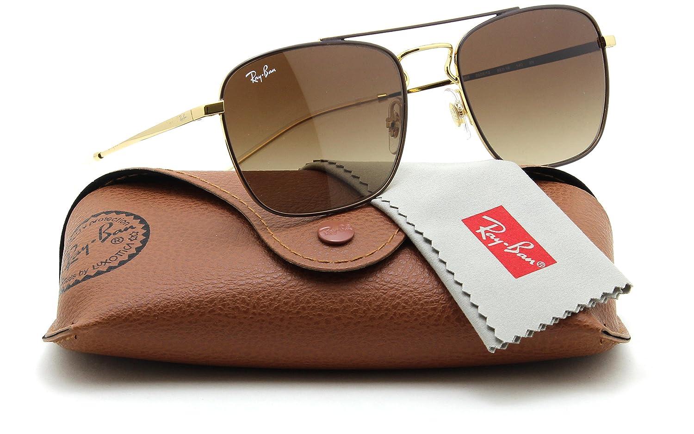 1d2845d15e233 Amazon.com  Ray-Ban RB3588 Unisex Brown Gradient Sunglasses 905513 ...