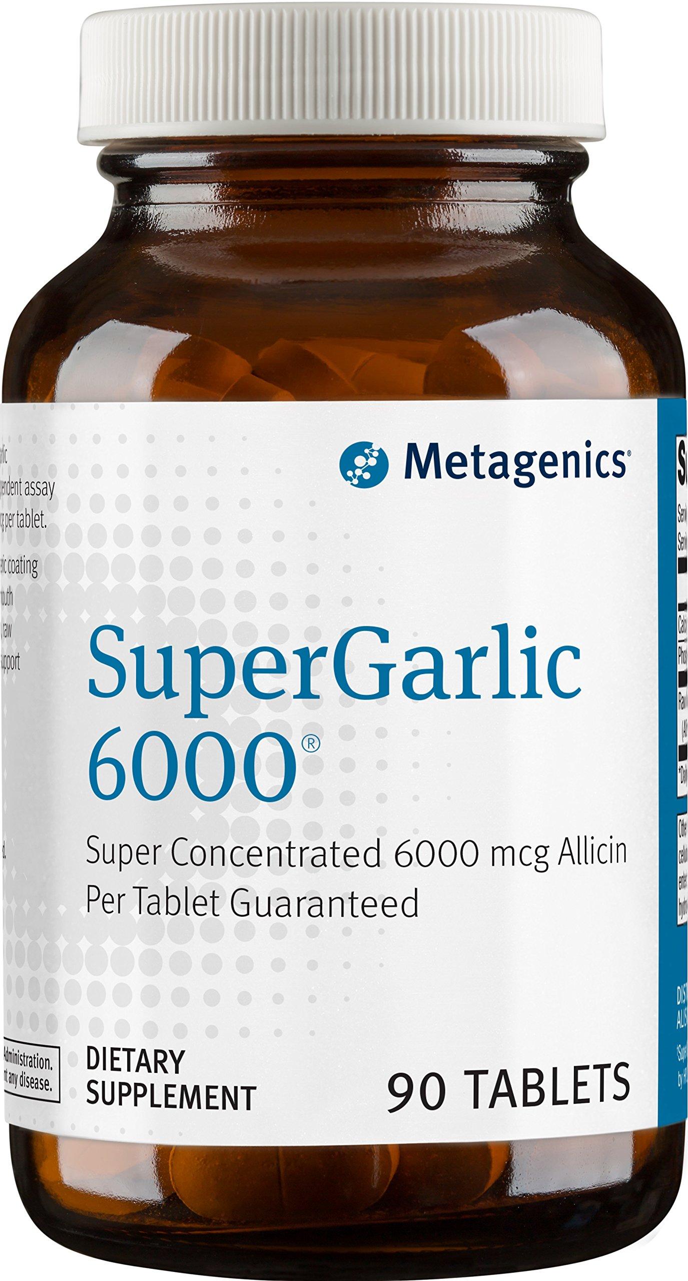 Metagenics - SuperGarlic 6000, 90 Count