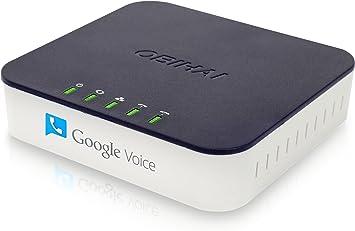 Adaptador de tel/éfono de 2 Puertos para Internet SIP V2 protocolo con Cable de Red para Linksys PAP2T EU EU Plug Fsskgx VoIP Gateway