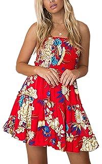 8f961737126 Kalin Women s All Black Strapless Tube Top Stretchy Skater Dress at ...
