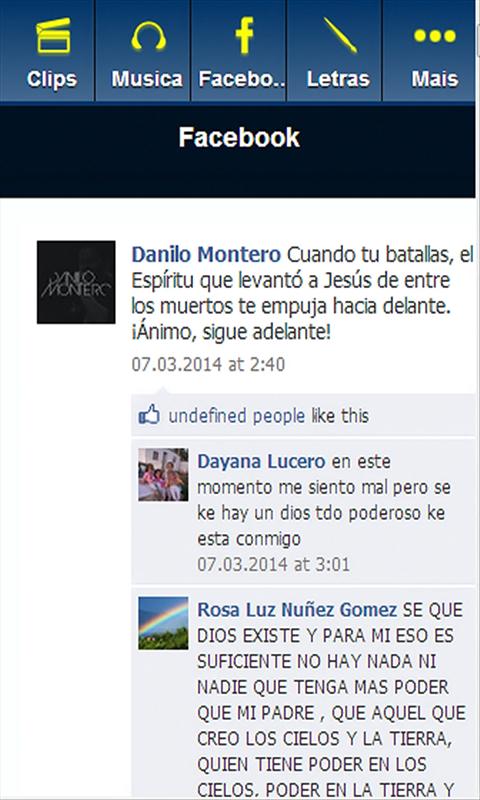 Letra Bendito Jesus Danilo Montero