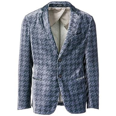 Emporio Armani cazadoras hombres americana chaqueta nuevo gris EU 50 (UK 40) 11G10S11S48: Amazon.es: Ropa y accesorios