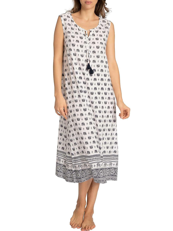 Taubert Kerala Strandkleid mit India-Print, 120cm Damen