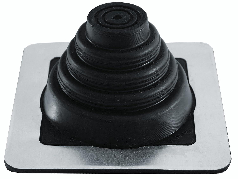 Doppelstehfalz Trapezblech EPDM rund, 75 mm - 160 mm EPDM 3 bis 724 mm Blechpfannen Rohrmanschette Kabel- Rohrdurchf/ührung Dachdurchf/ührung