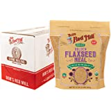 Bob's Red Mill Organic Golden Flaxseed Meal, 32-ounce (Pack of 4)