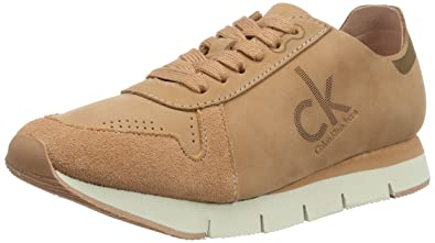 Womens Tuesday Nubuck Low-Top Sneakers Calvin Klein Jeans RhoPYqf