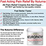 Neuropathy Pain Relief Cream - Clinical Strength