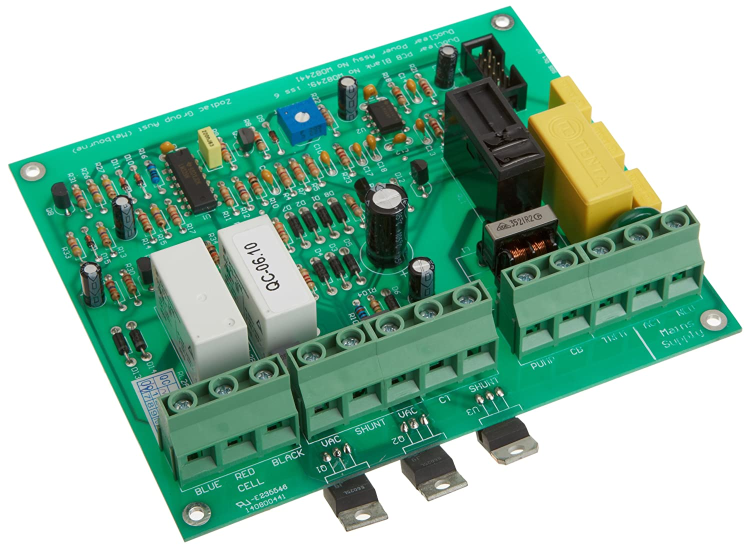 Zodiac W082441 Power Printed Circuit Board Assembly Replacement