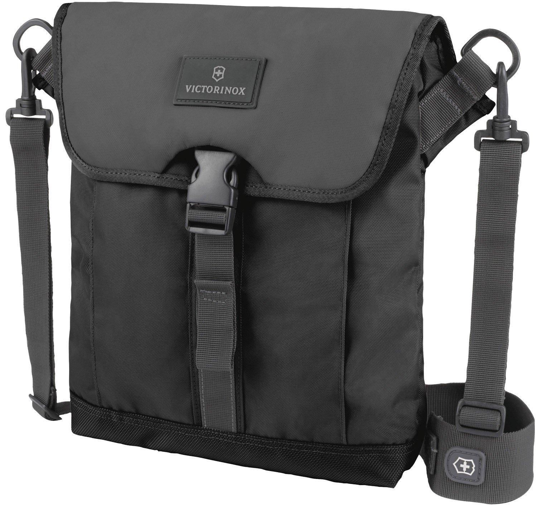 [ビクトリノックス] Victorinox ショルダーバッグ 公式 Flapover Digital Bag 保証書付 B00B3SMCQ8 Bk Bk