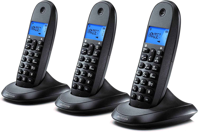 Motorola C1003LB+ Trio Teléfono Fijo DECT inalámbrico Trio: Motorola: Amazon.es: Electrónica