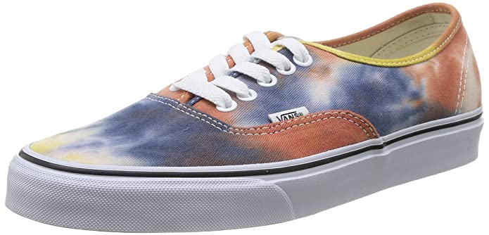 Vans Authentic Sneakers Damen Herren Unisex Erwachsene Bunt (Navy/Burnt Orange)