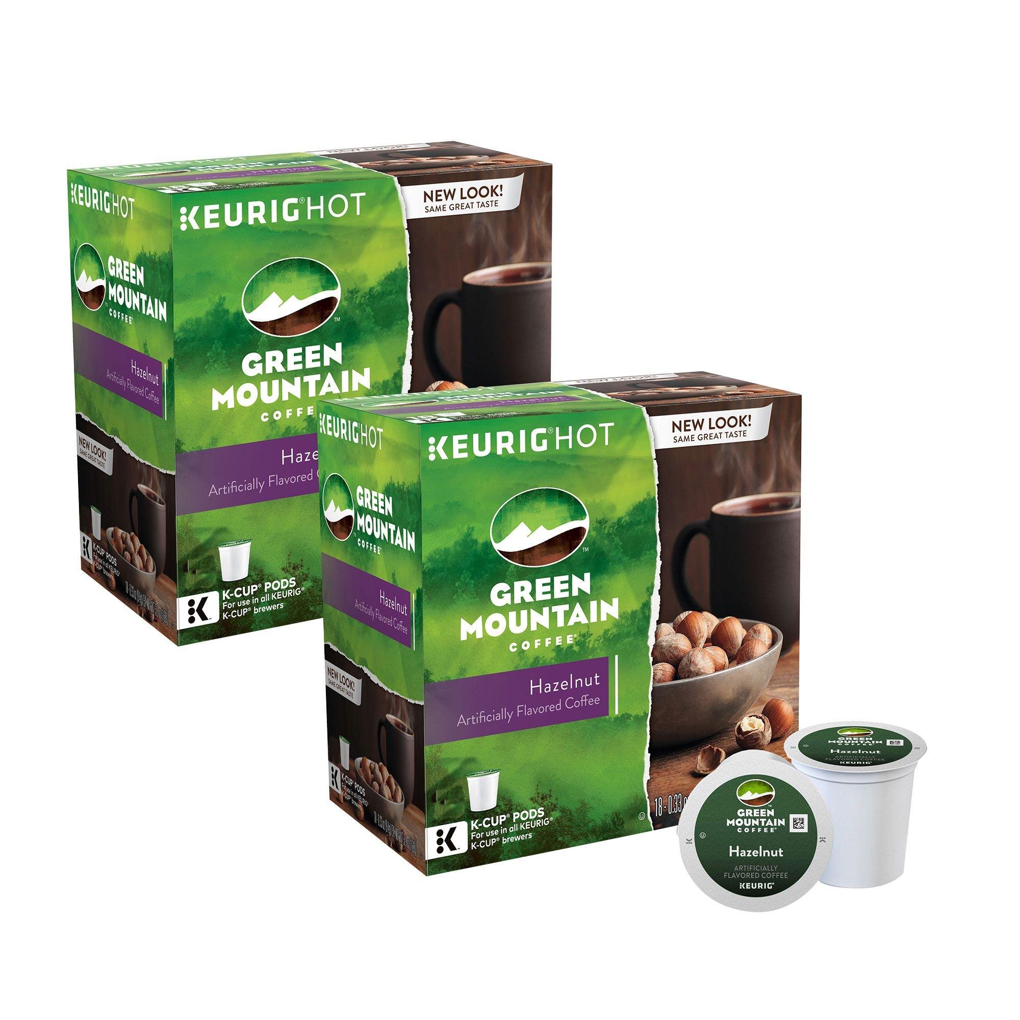 Green Mountain Coffee Hazelnut Blend 180 K-Cup Pods by Green Mountain Coffee