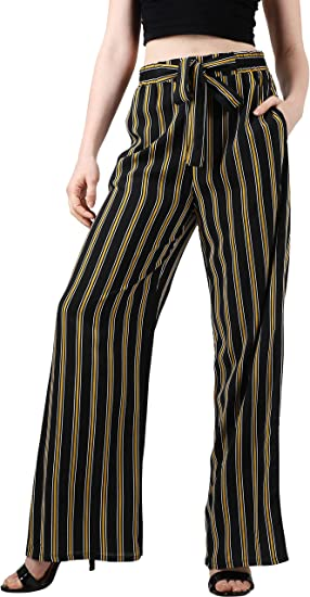 Ma Croix Womens Linen Pants Drawstring Casual Lantern Palazzo Trousers with Pockets