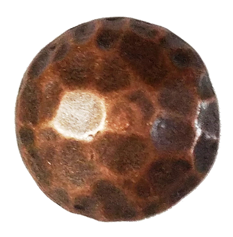 100 Medium Clavos rustique insertion Nailheads en cuivre antique Environ 2, 5 cm 5cm GTB