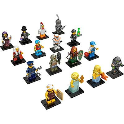 Lego Minifigures Series 9 Complete Set of 16: Toys & Games