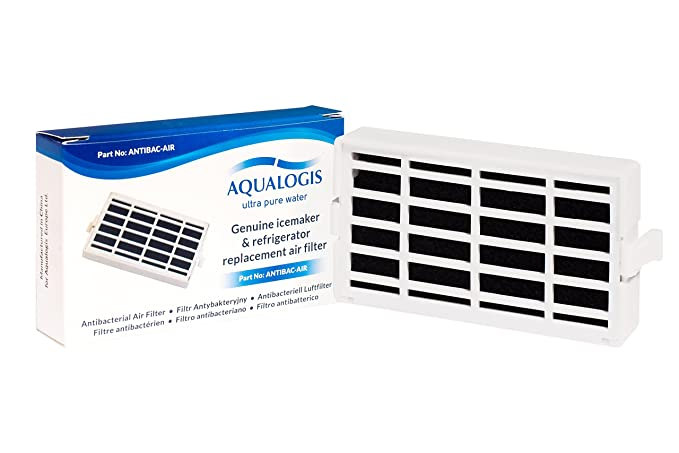 2x Antibac-air Filtre Pour Bauknecht Réfrigérateur Congélateur Ant002 Electroménager