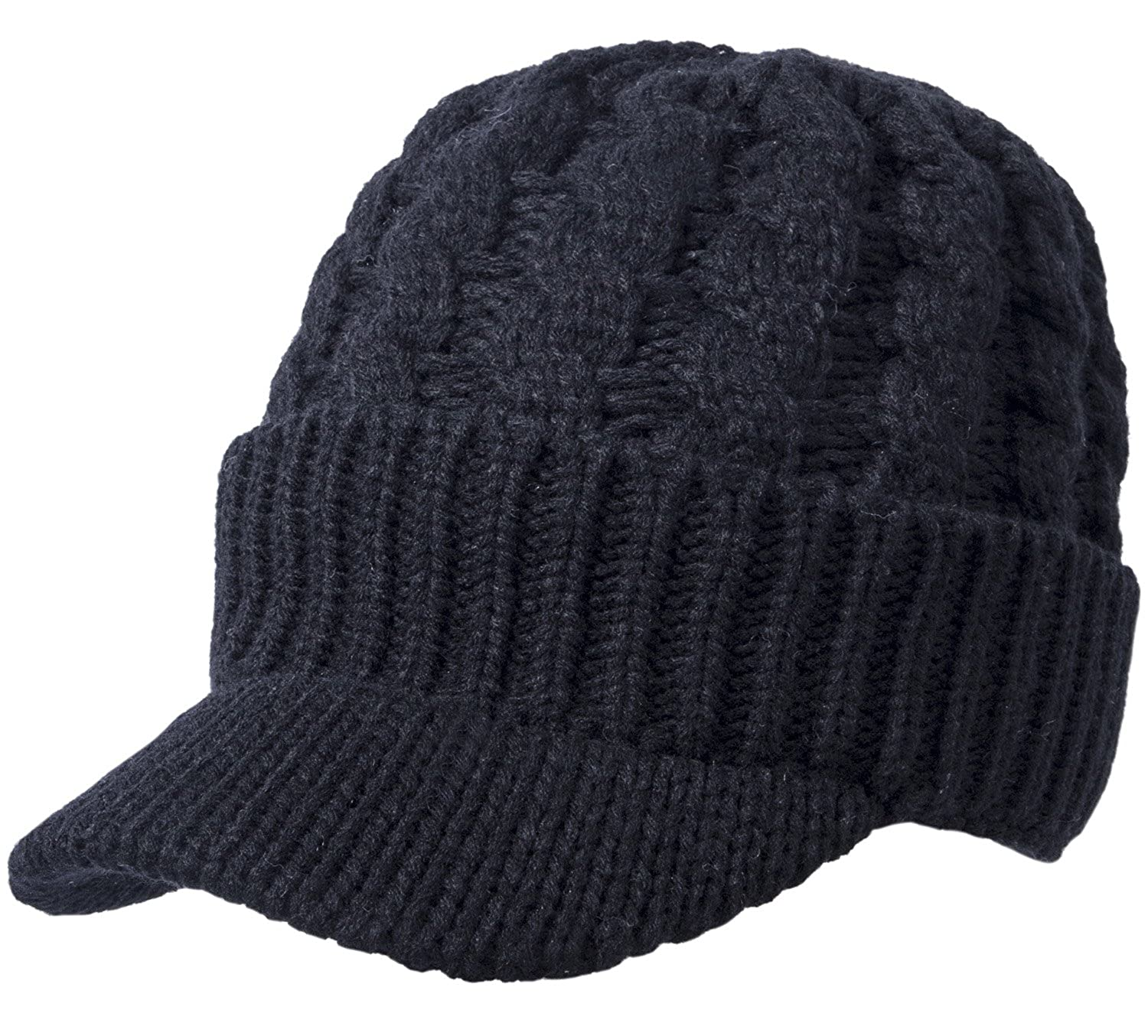 MATERIAL   The beanie hats are made from thick and quality Acrylic knit  fabric. It provide excellent insulation.100 % Acrylic with 1 3 4 Inch Brim. fe9795065a29